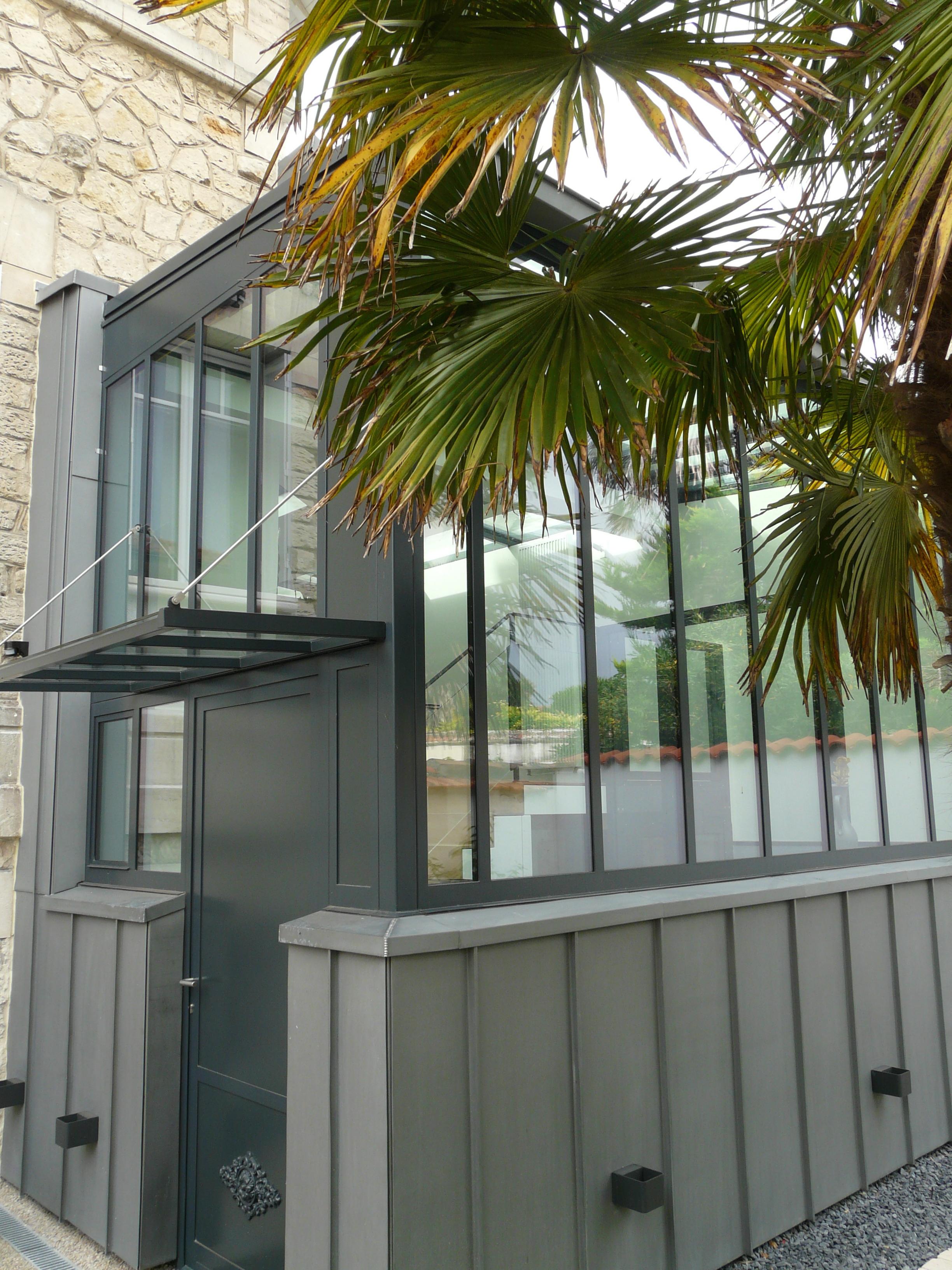 extension de verre d 39 une maison de ville la rochelle 17 zest architecture c line jean. Black Bedroom Furniture Sets. Home Design Ideas