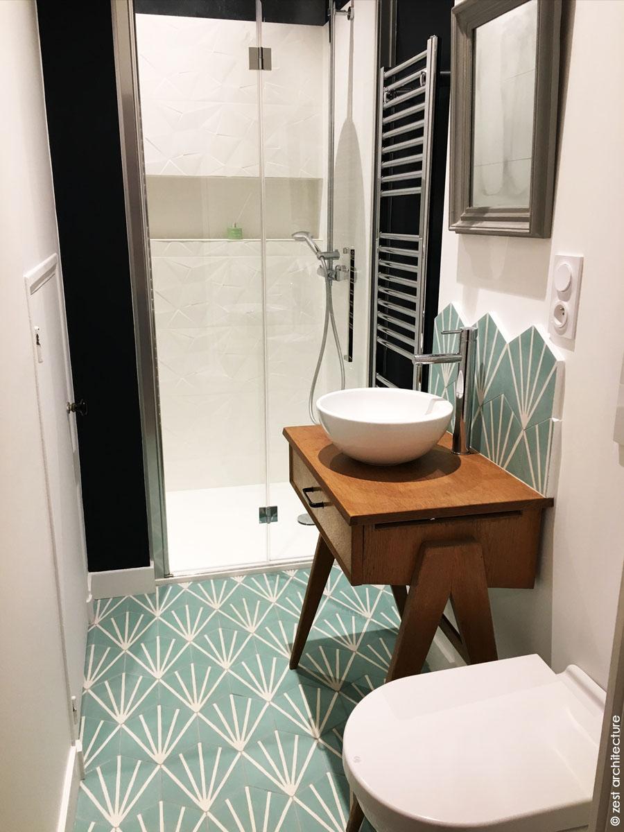 salle de bain Zest Architecture