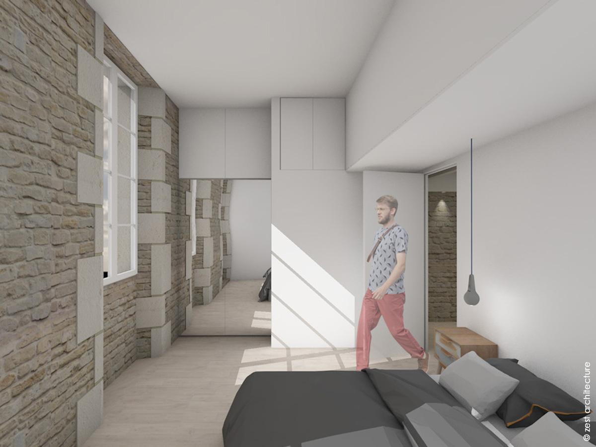 Rénovation d une maison   Ile de Ré (17) - Zest Architecture ... c569cd2ca611