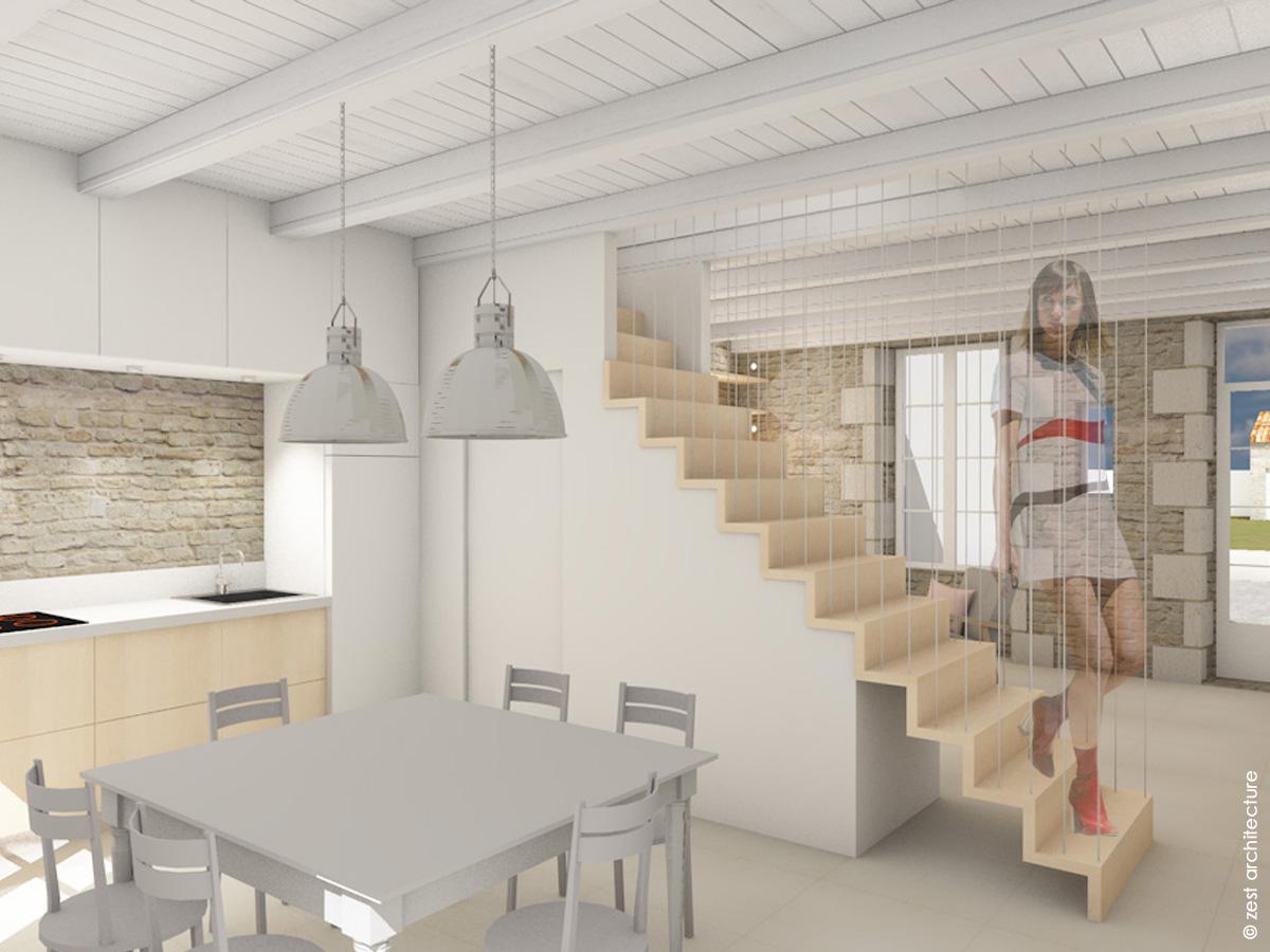Ile de Ré Rénovation Le Bois-Plage-en-Ré architecte